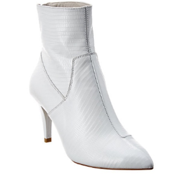 Free People White Willa Ankle Boot